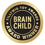 Brain Child tillywing toy Award Winner - Police Car, Truck & Helicopter