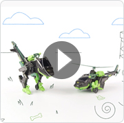 VTech® Switch & Go™ Velociraptor Helicopter