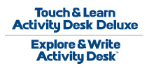 Touch & Learn Activity Desk Deluxe. Explore & Write Activity Desk™