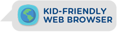 Kid-friendly web browser