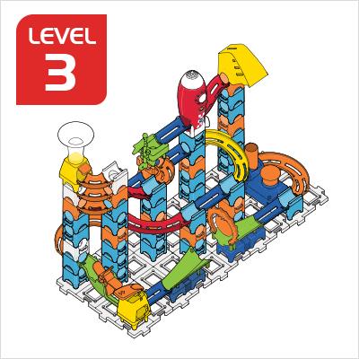 Marble Rush Launchpad Set Build 10, Level 3