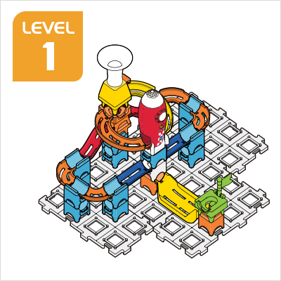 Marble Rush Launchpad Set Build 1, Level 1