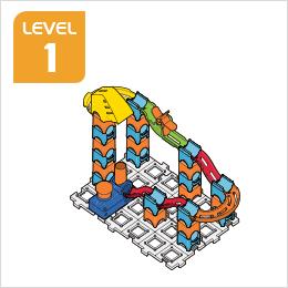Marble Rush Launchpad Set Build 2, Level 1
