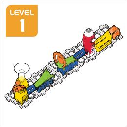 Marble Rush Launchpad Set Build 3, Level 1