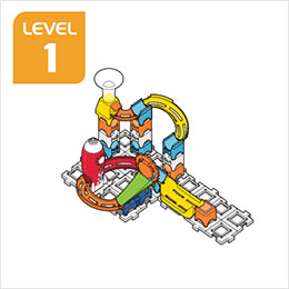 Marble Rush Launchpad Set Build 4, Level 1