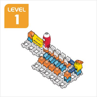 Marble Rush Launchpad Set Build 5, Level 1
