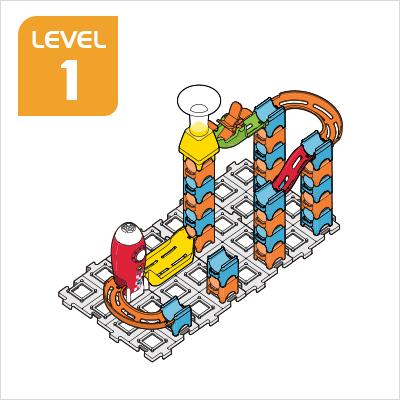 Marble Rush Launchpad Set Build 6, Level 1