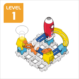 Marble Rush Launchpad Set Build 7, Level 1