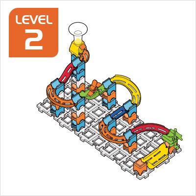 Marble Rush Launchpad Set Build 8, Level 2