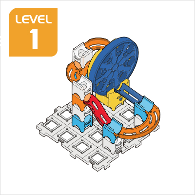 Marble Rush Ultimate Set Build 1, Level 1