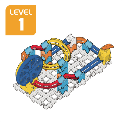 Marble Rush Ultimate Set Build 2, Level 1