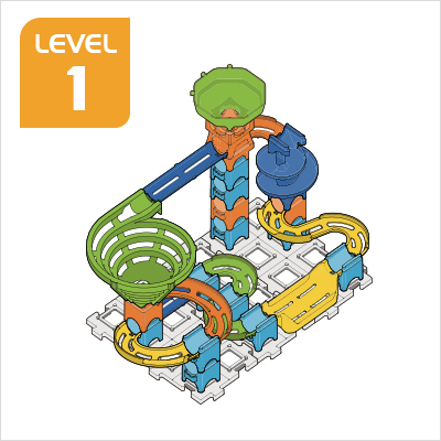 Marble Rush Ultimate Set Build 3, Level 1