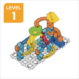 Marble Rush Ultimate Set Build 4, Level 1