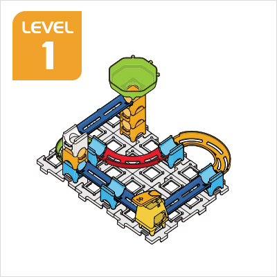 Marble Rush Ultimate Set Build 5, Level 1