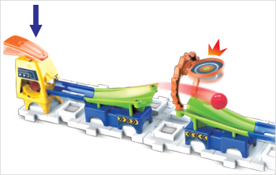 Adjust the track and amount of force used on the pedal kicker.