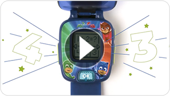 PJ Masks Learning Watches in Action - video thumbnail, click to watch video