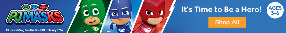 PJMASKS! It's Time to Be a Hero! - banner image, click to shop