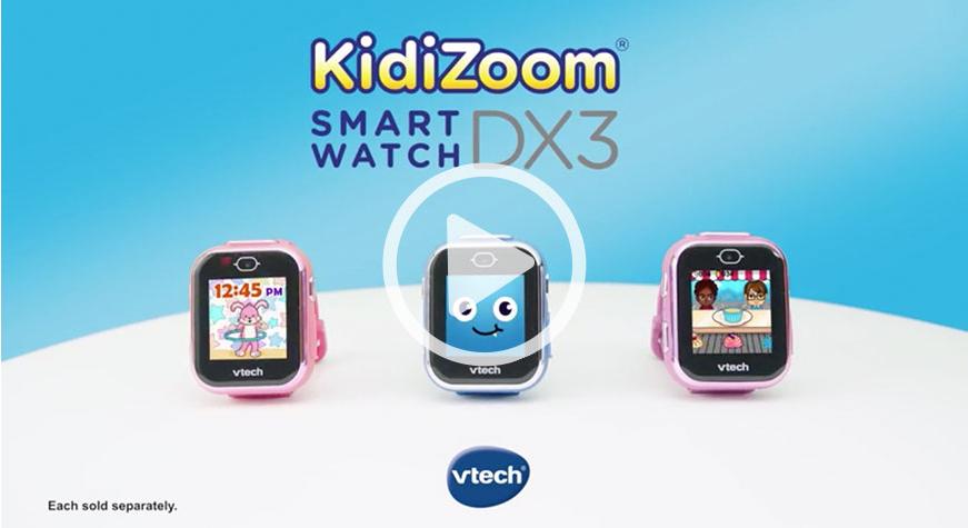 VTech KidiZoom Smartwatch DX3 TV Co Viewing
