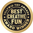 TILLYWIG TOY AWARDS BEST CREATIVE FUN AWARD WINNER