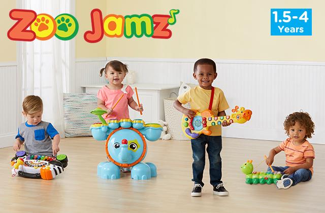 Zoo Jamz.(1.5-4 Years)