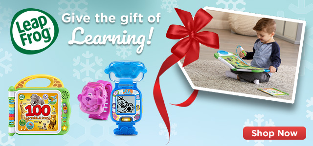 Holiday gift guide Leap banner