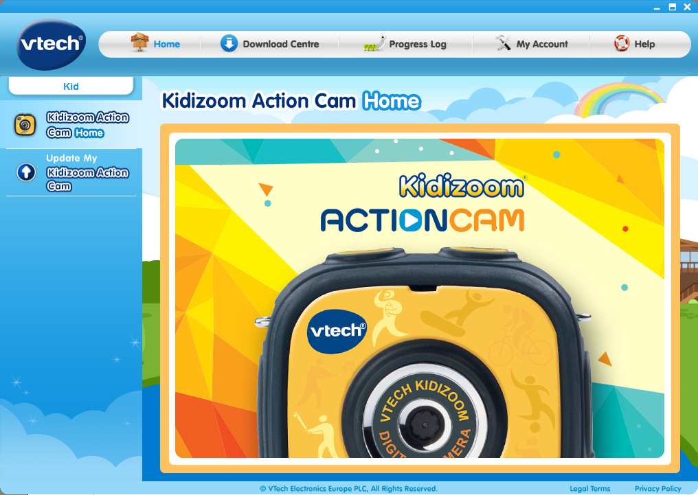 Kidizoom® Action Cam home page