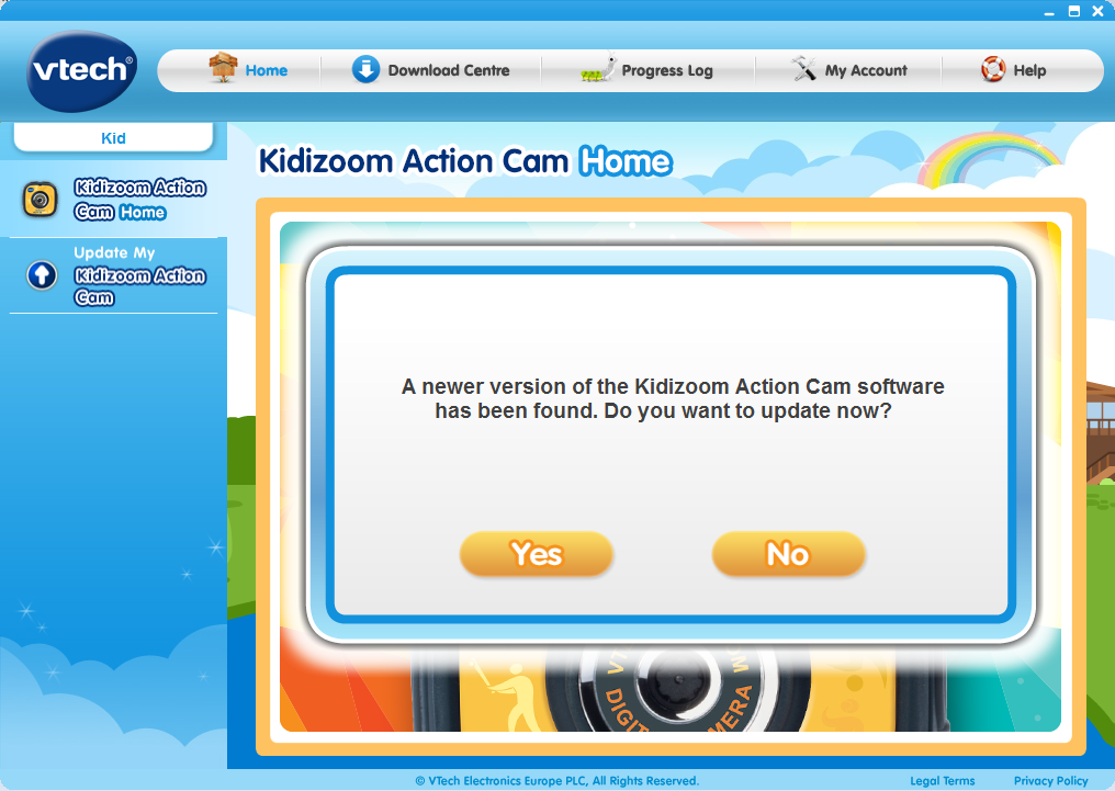Update my Kidizoom® Action Cam