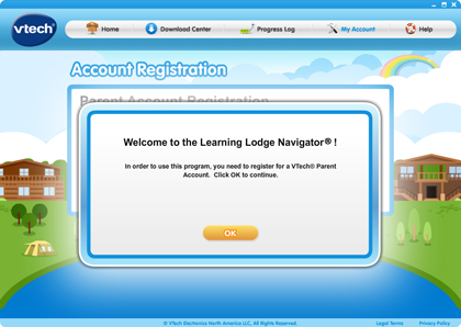 Successfully installed Learning Lodge Navigator®