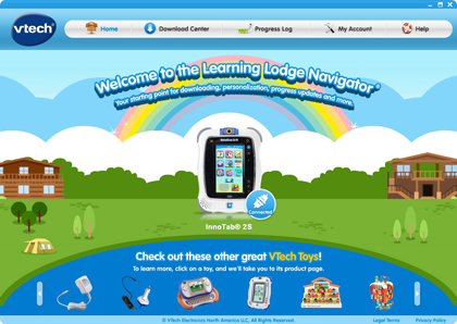 Learning Lodge Navigator® home