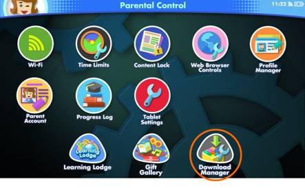 Download Manager icon on Parental Control