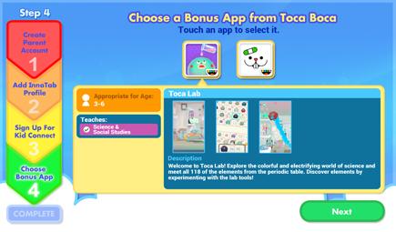 Choose Your Bonus Apps