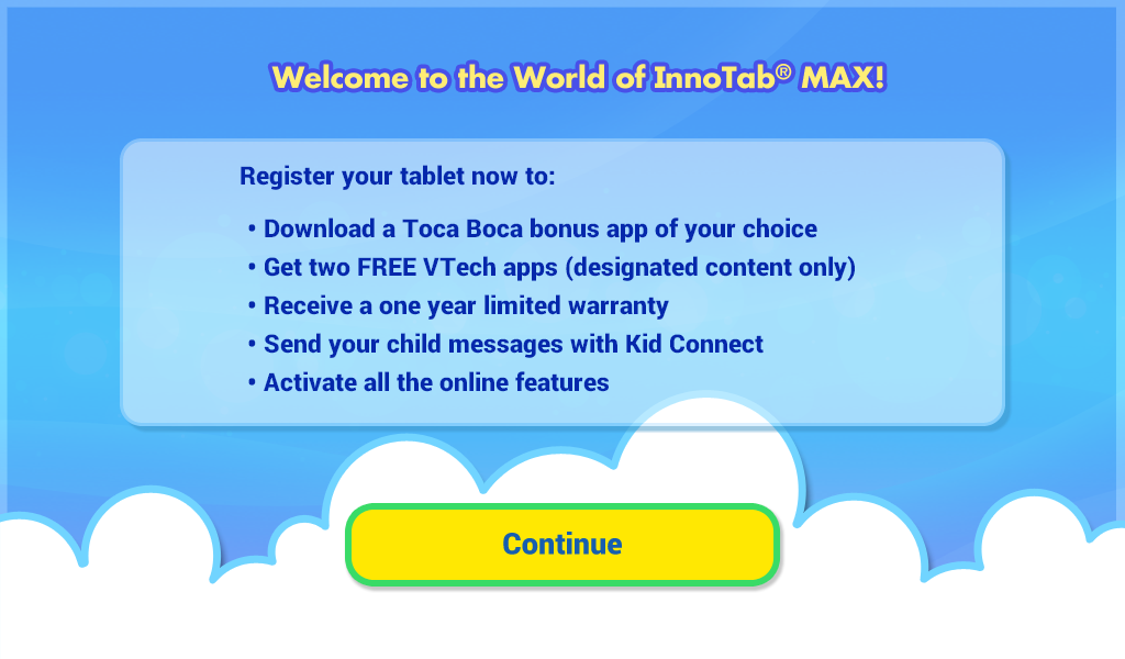 Welcome to InnoTab screen capture