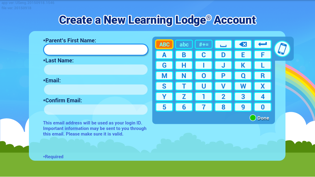 Create a New Learning Lodge® Account