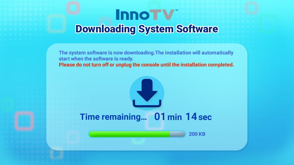 Downloading System Software