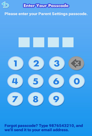 Screen: Enter Your Passcode.