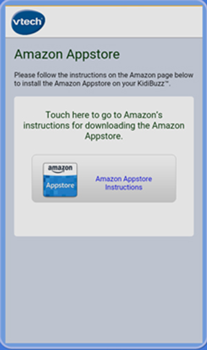 Screen: Amazon Appstore