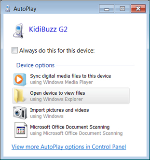 Screen: AutoPlay
