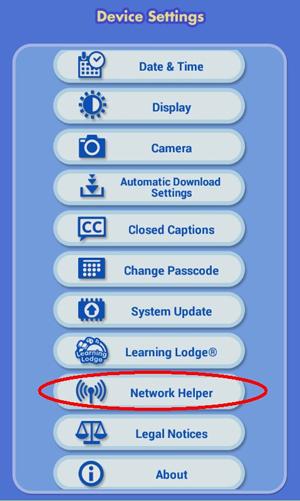 Screen: Device Settings