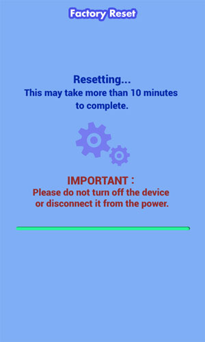 Reset Your Device