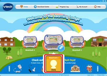Learning Lodge™ home page.