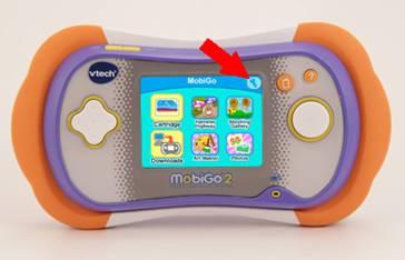 Settings icon on MobiGo® 2 main menu