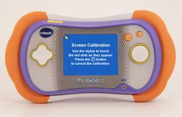 Screen Calibration screen