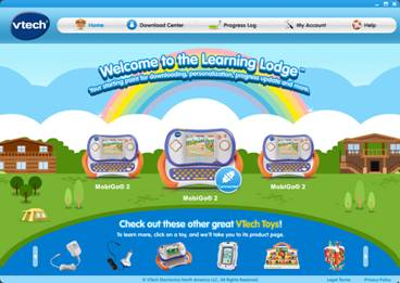 Learning Lodge™ page